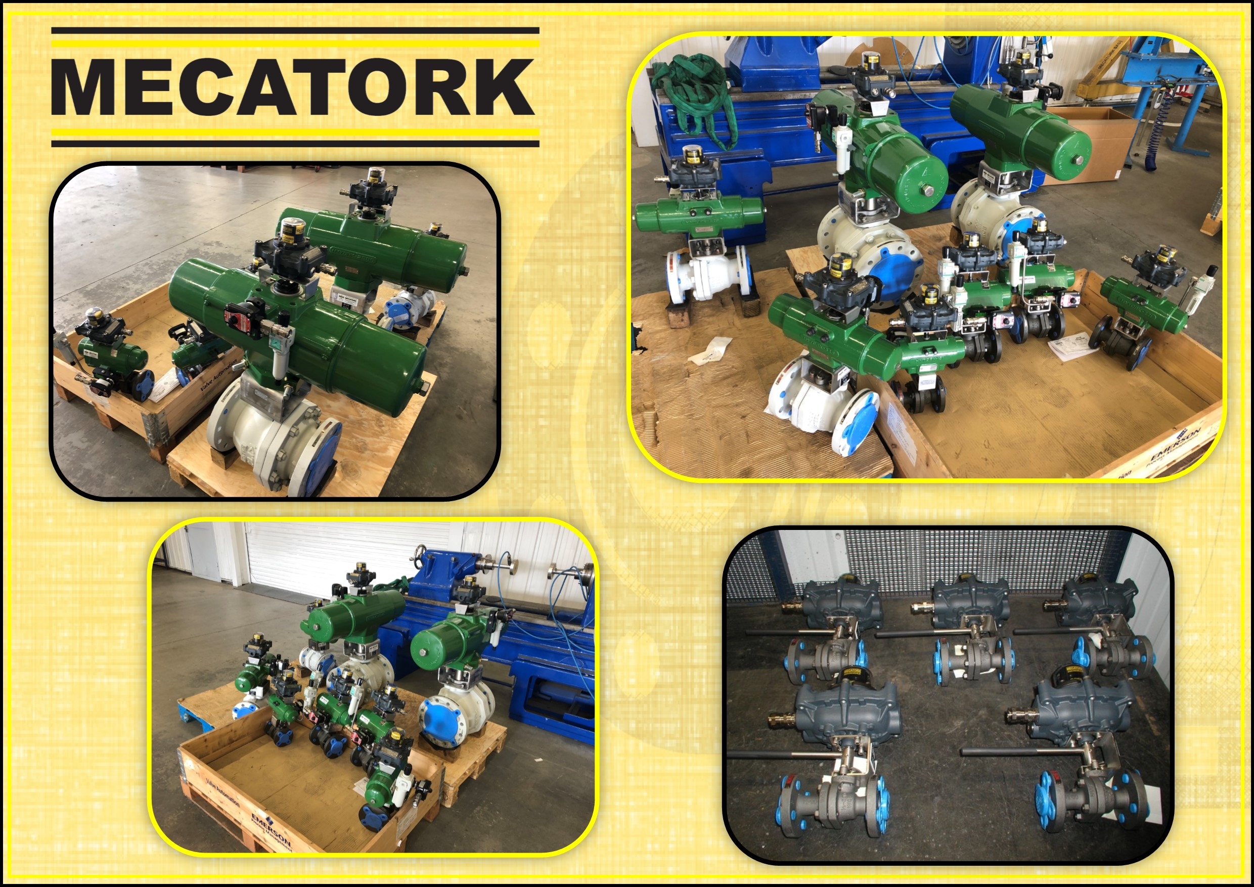 Hytork MECATORK Ball valve