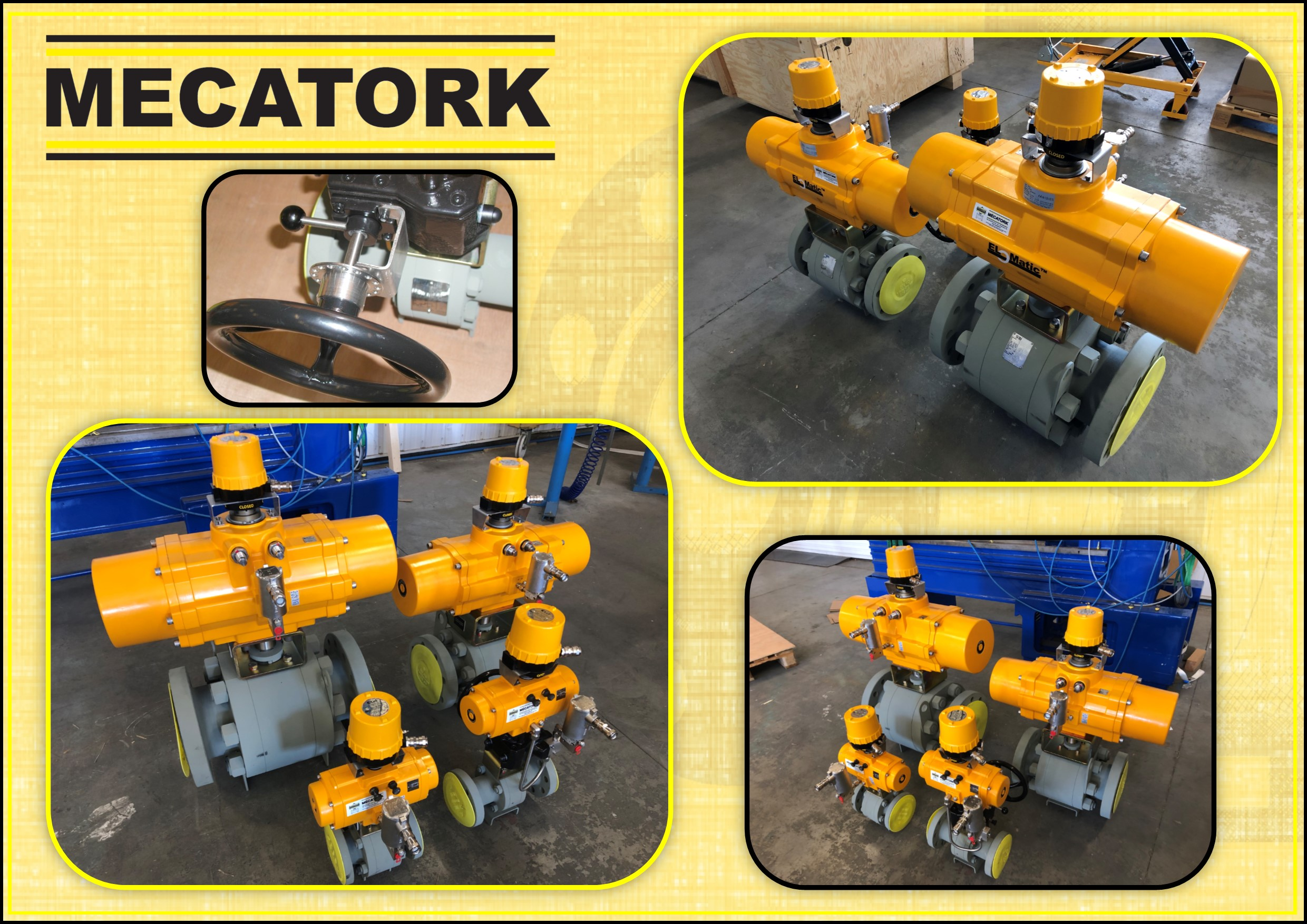MECATORK ELOMATIC BALL VALVE